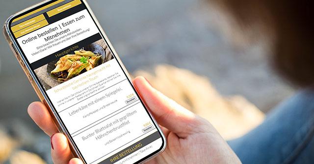 Lieferservice-Bestellsystem, Restauran-Onlineshop mit Shop-Marketing, Restaurant- & Gastronomie Marketing, Tourismus Marketing, Gastro Marketing, Mehr Gäste.